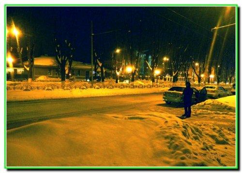 Наше місто взимку