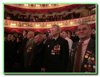 Святкування 25 річниці виведення військ з Афганістану у місті Вінниця