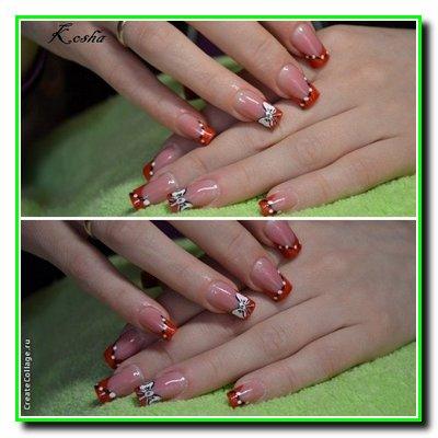 Нарощування нігтів в Вінниці