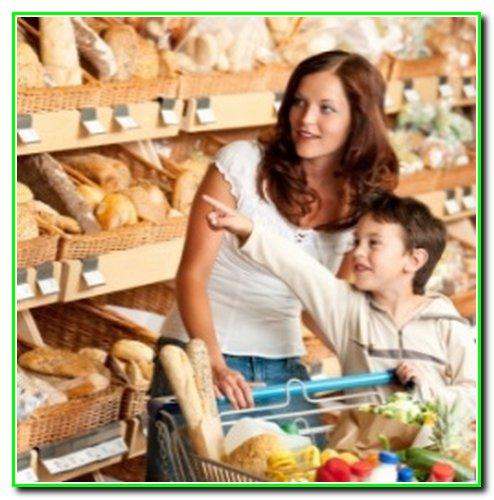 Як скупитися з дитиною в супермаркеті