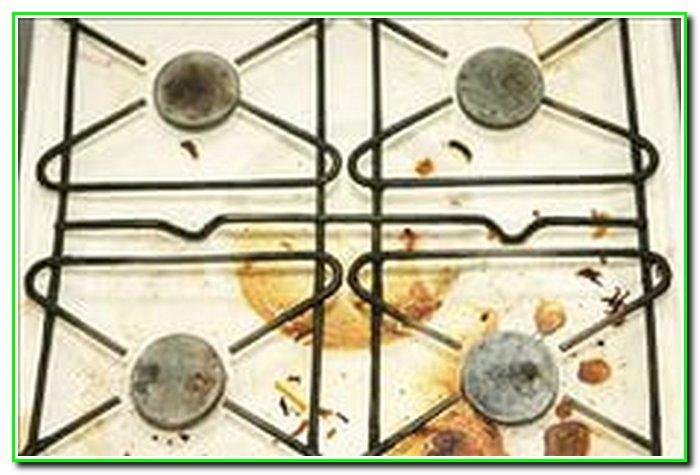 Как отмыть жир с плиты в домашних условиях