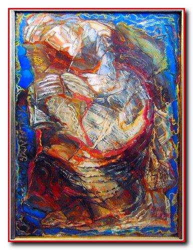 """""""Літописець"""". Картон, олія. Розмір 99х69 см. 2017 рік. Ціна 1800 $."""