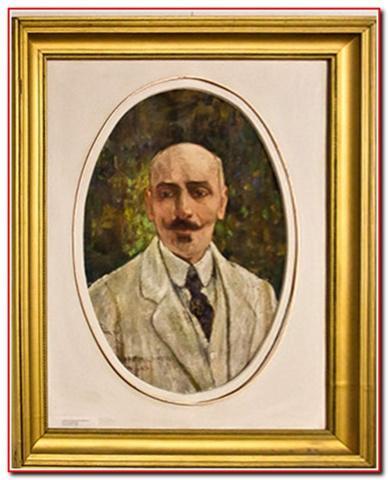 Портрет Коцюбинського