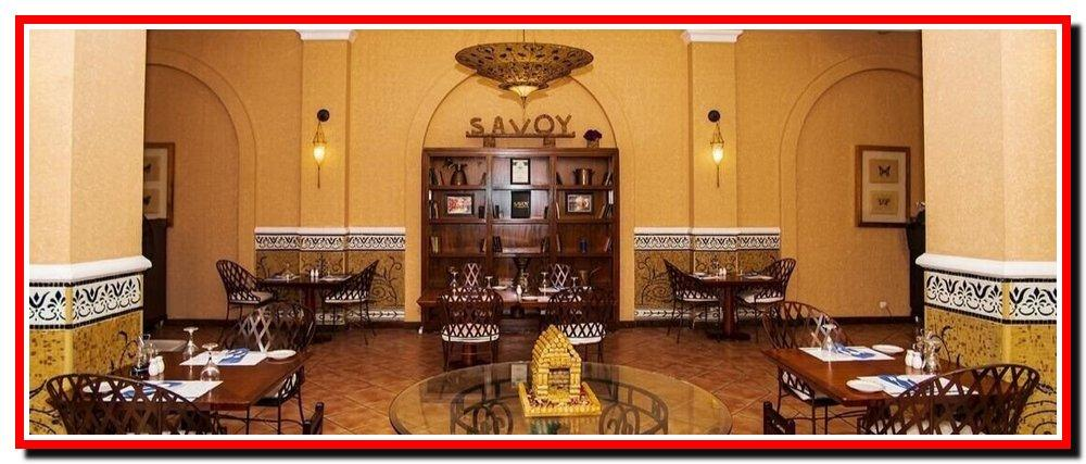 Ресторан в Savoy. Єгипет